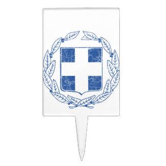 Escudo de armas de Grecia Decoración De Tarta