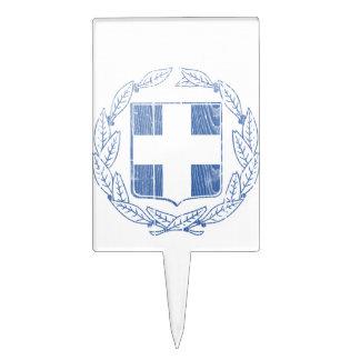 Escudo de armas de Grecia Decoraciones De Tartas
