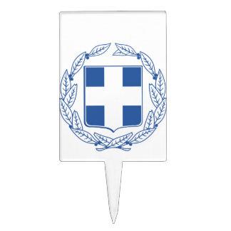 Escudo de armas de Grecia Decoraciones Para Tartas