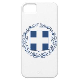 Escudo de armas de Grecia iPhone 5 Case-Mate Fundas