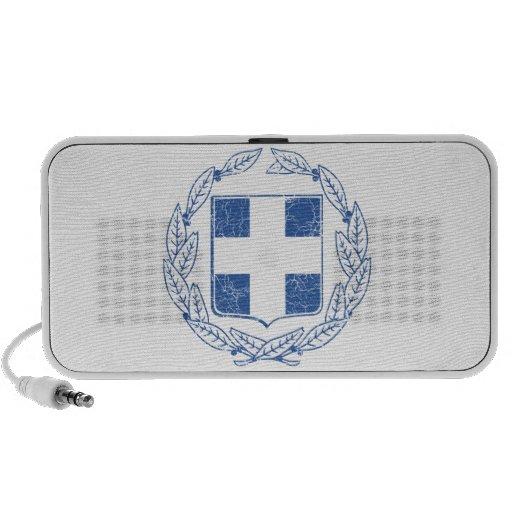 Escudo de armas de Grecia Mp3 Altavoz