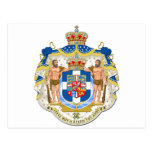 Escudo de armas de Grecia Postal