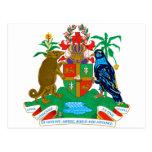 Escudo de armas de Grenada Tarjetas Postales