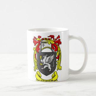 Escudo de armas de GRIFFEN Tazas De Café