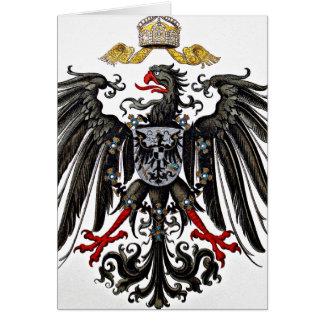 Escudo de armas de Griffon Tarjeta Pequeña