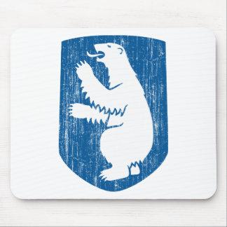 Escudo de armas de Groenlandia Tapete De Raton