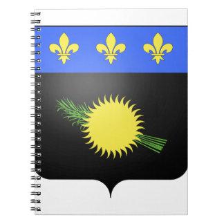 Escudo de armas de Guadalupe (Francia) Cuadernos