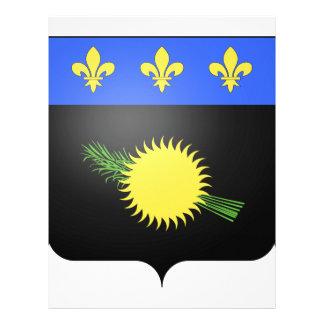 Escudo de armas de Guadalupe (Francia) Plantillas De Membrete