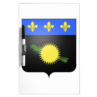 Escudo de armas de Guadalupe (Francia) Pizarra