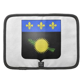 Escudo de armas de Guadalupe (Francia) Organizador