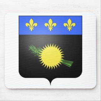 Escudo de armas de Guadalupe (Francia) Alfombrilla De Ratón