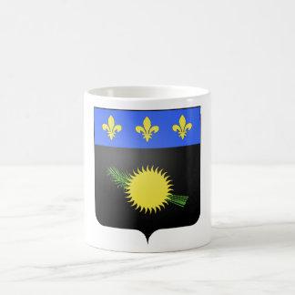 Escudo de armas de Guadalupe (Francia) Taza