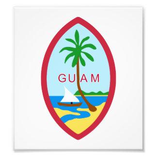 Escudo de armas de Guam Foto