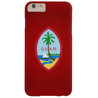 Escudo de armas de Guam Funda De iPhone 6 Plus Barely There