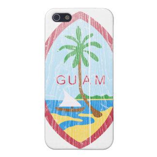 Escudo de armas de Guam iPhone 5 Carcasas
