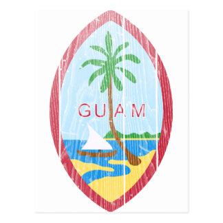 Escudo de armas de Guam Postal