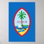 Escudo de armas de Guam Póster