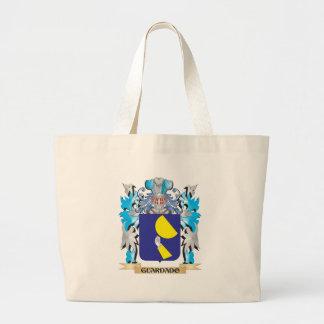Escudo de armas de Guardado - escudo de la familia Bolsa Lienzo