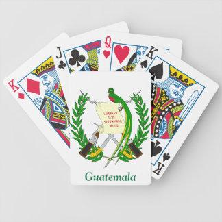 Escudo de armas de Guatemala Barajas De Cartas