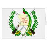 Escudo de armas de Guatemala Felicitacion