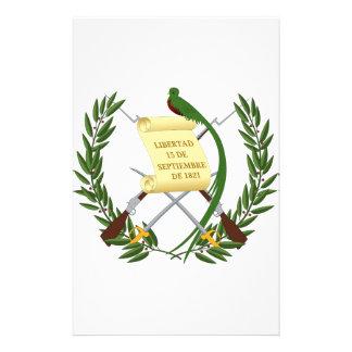 Escudo de armas de Guatemala Personalized Stationery