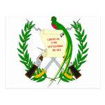 Escudo de armas de Guatemala Postal