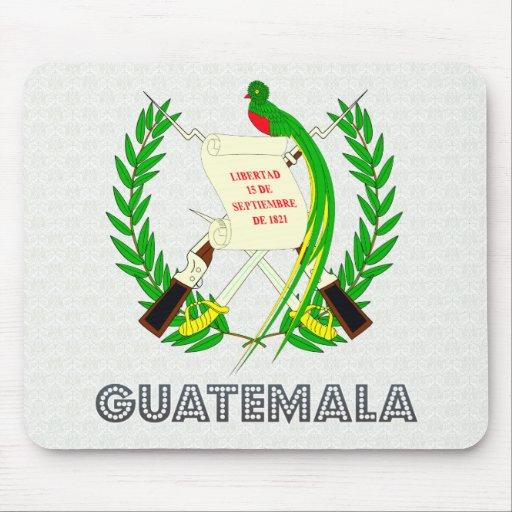 Escudo de armas de Guatemala Alfombrilla De Ratones