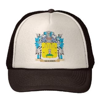 Escudo de armas de Guerra - escudo de la familia Gorros Bordados