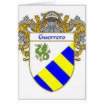 Escudo de armas de Guerrero (cubierto) Tarjeta De Felicitación