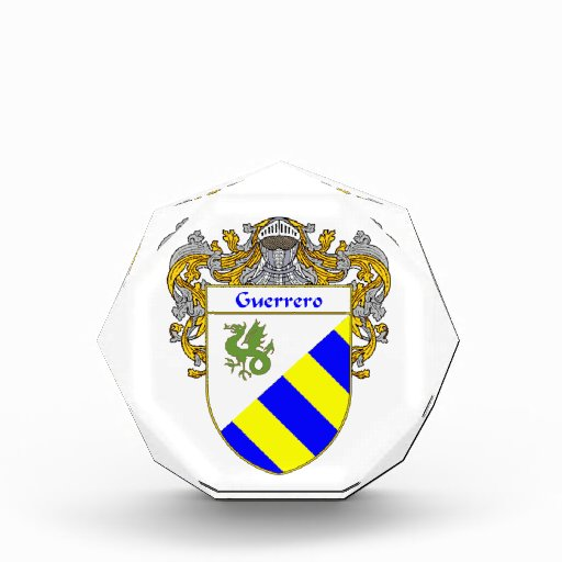 Escudo de armas de Guerrero/escudo de la familia