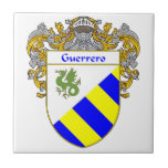 Escudo de armas de Guerrero/escudo de la familia Azulejos Ceramicos