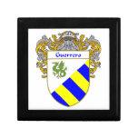 Escudo de armas de Guerrero/escudo de la familia Cajas De Joyas