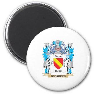 Escudo de armas de Guerrero - escudo de la familia Imán De Frigorifico