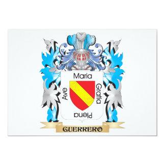 Escudo de armas de Guerrero - escudo de la familia Comunicado Personalizado