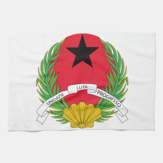 Escudo de armas de Guinea-Bissau Toallas De Mano