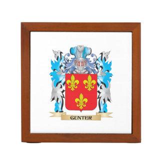 Escudo de armas de Gunter - escudo de la familia Organizador De Escritorio