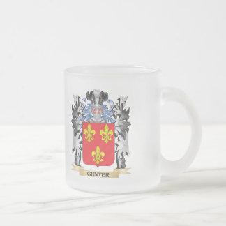 Escudo de armas de Gunter - escudo de la familia Taza De Cristal