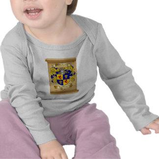 Escudo de armas de Guthrie en voluta Camiseta