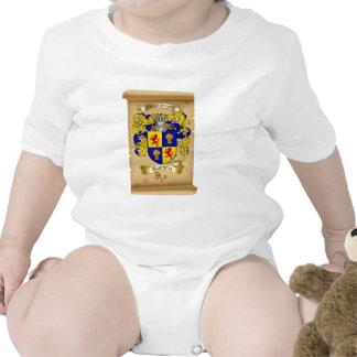 Escudo de armas de Guthrie en voluta Traje De Bebé