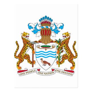 Escudo de armas de Guyana Postal