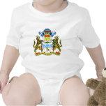 Escudo de armas de Guyana Traje De Bebé