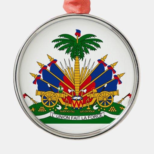 Escudo de armas de Haití Adorno Para Reyes