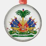 Escudo de armas de Haití Adornos De Navidad