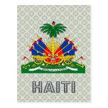 Escudo de armas de Haití Tarjetas Postales