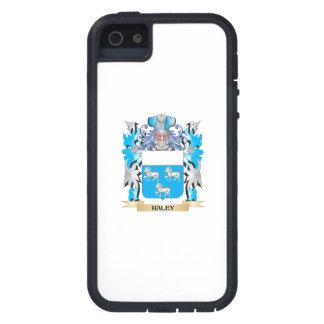 Escudo de armas de Haley - escudo de la familia iPhone 5 Case-Mate Protector