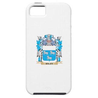 Escudo de armas de Haley - escudo de la familia iPhone 5 Coberturas