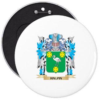 Escudo de armas de Halpin - escudo de la familia Pins