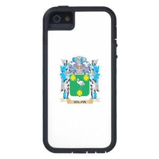 Escudo de armas de Halpin - escudo de la familia iPhone 5 Case-Mate Fundas