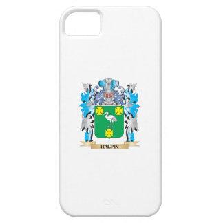 Escudo de armas de Halpin - escudo de la familia iPhone 5 Case-Mate Protectores