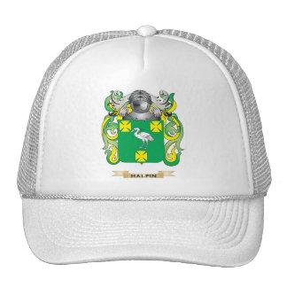 Escudo de armas de Halpin (escudo de la familia) Gorras